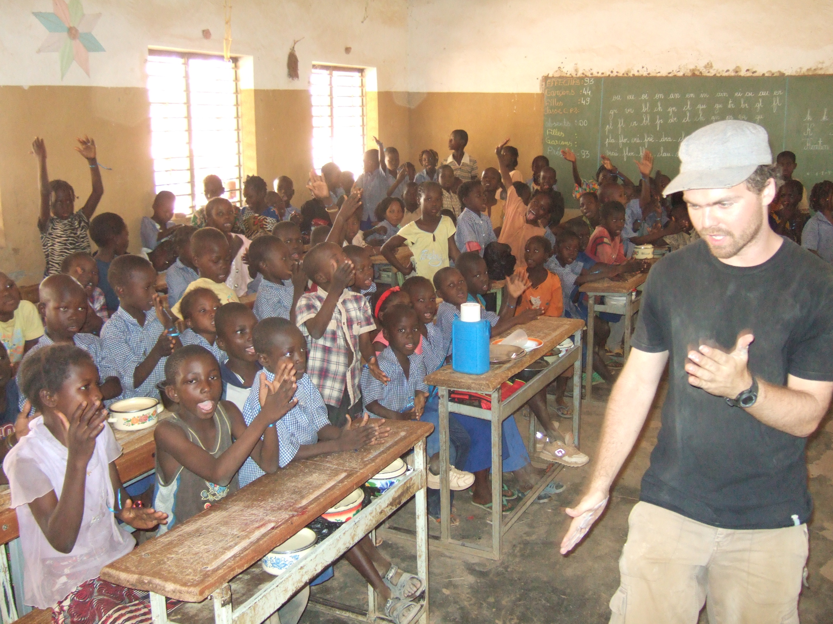 Classe au Burkina Faso